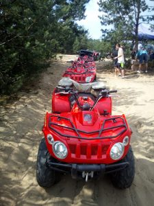 off road pustynia ATV