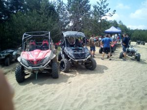 off road pustynia UTV